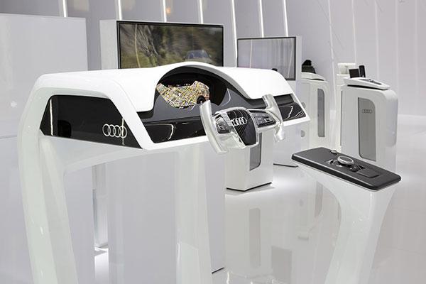 奥迪虚拟驾驶舱