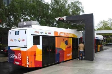 ABB与达沃斯市合作建立闪充充电设施