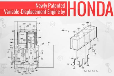 发动机内不同气缸排量不同?来看看本田的新专利