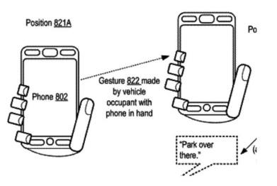苹果希望通过手势控制实现自动驾驶
