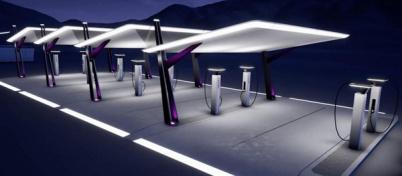 """宝马、奔驰、福特、大众发布""""超级充电站""""设计图"""