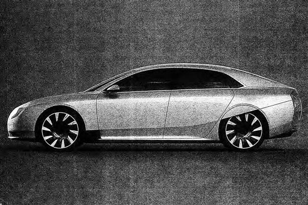 Atieva纯电动汽车Atvus设计渲染图