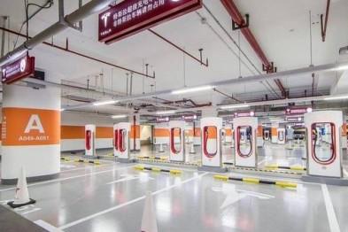 特斯拉在香港建亚洲最大充电站