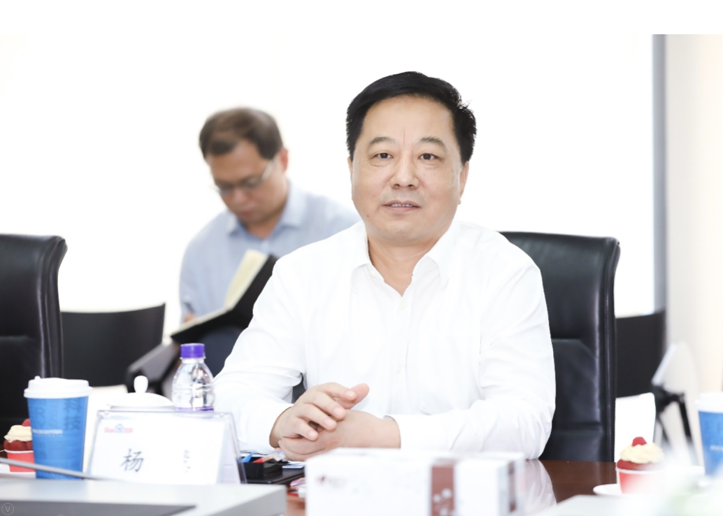 沧州市委书记杨慧在现场发表讲话