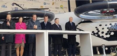 空中出租车City-Airbus揭幕 纯电动时速120公里