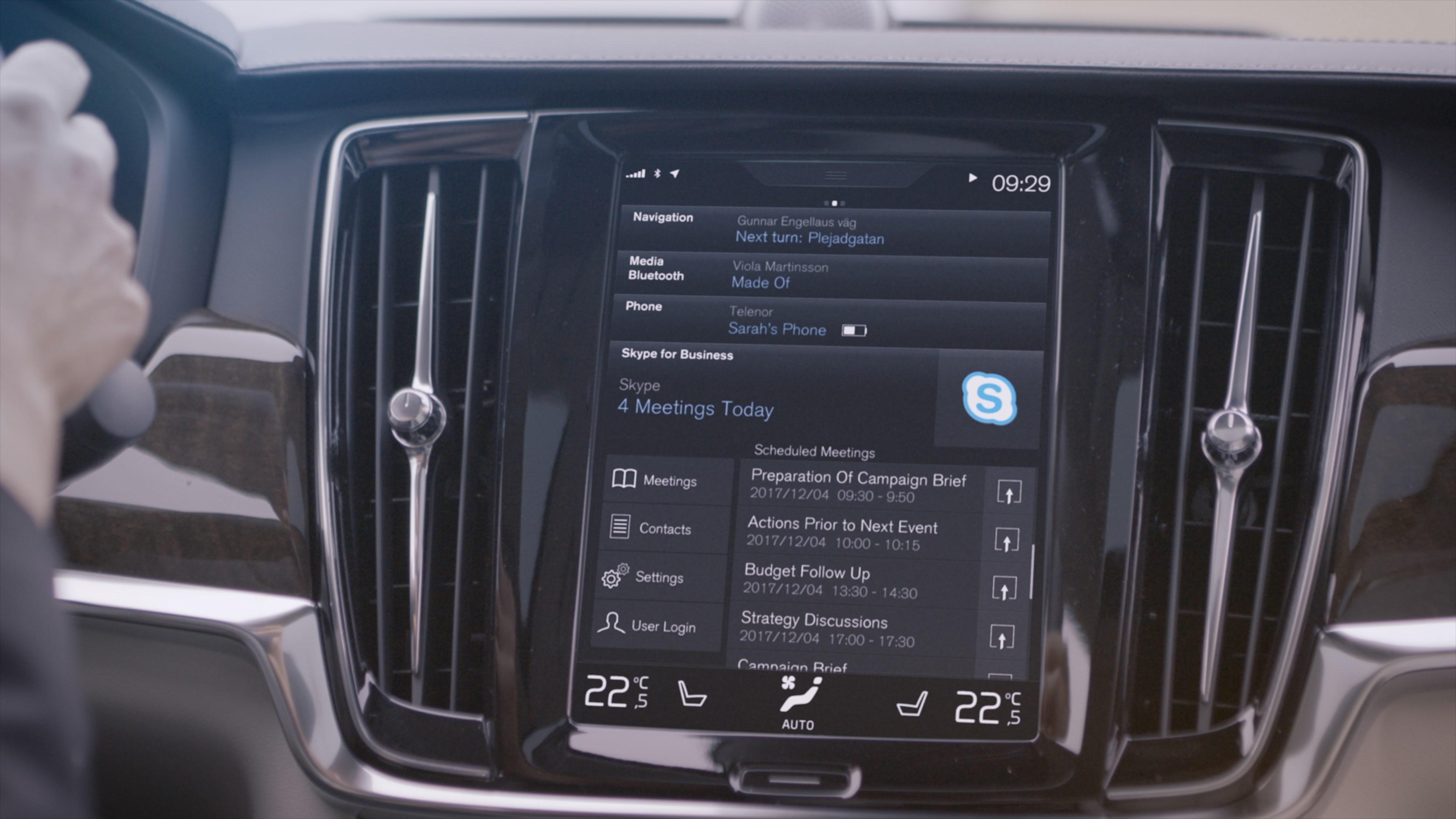 沃尔沃Sensus智能车载互联系统 3年之内,自动驾驶汽车将走入平常百姓家。CES期间我受邀参加了Zenuity公司的晚宴。额外提一句,Zenuity是2016年由沃尔沃汽车与Autoliv公司合资成立的新公司,专攻自动驾驶以及主动安全软件,CEO是我的老同事。借此次机会,我打听到一些开发进度的内幕消息,再结合Waymo、Nvidia的新进展(Drive