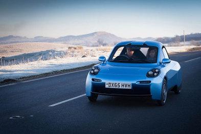 英国Riversimple发布氢动力汽车Rasa,主打欧洲市场