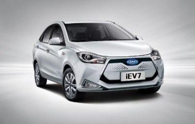 江淮4月7日将有3款新能源车型上市