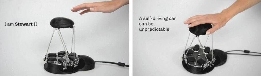人车交互新方式   Stewart II成自动驾驶重要拼图