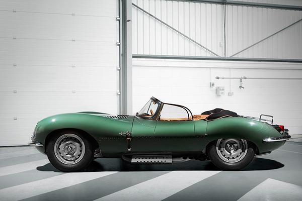 """捷豹是如何让一辆1957年的传奇性超跑车获得""""重生""""的?"""