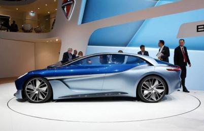 宝沃ISABELLA概念车亮相法兰克福车展,BX7 TS欧洲限量版开售