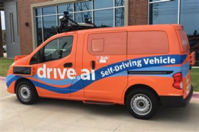 Drive.ai在德州试行自动驾驶接送服务