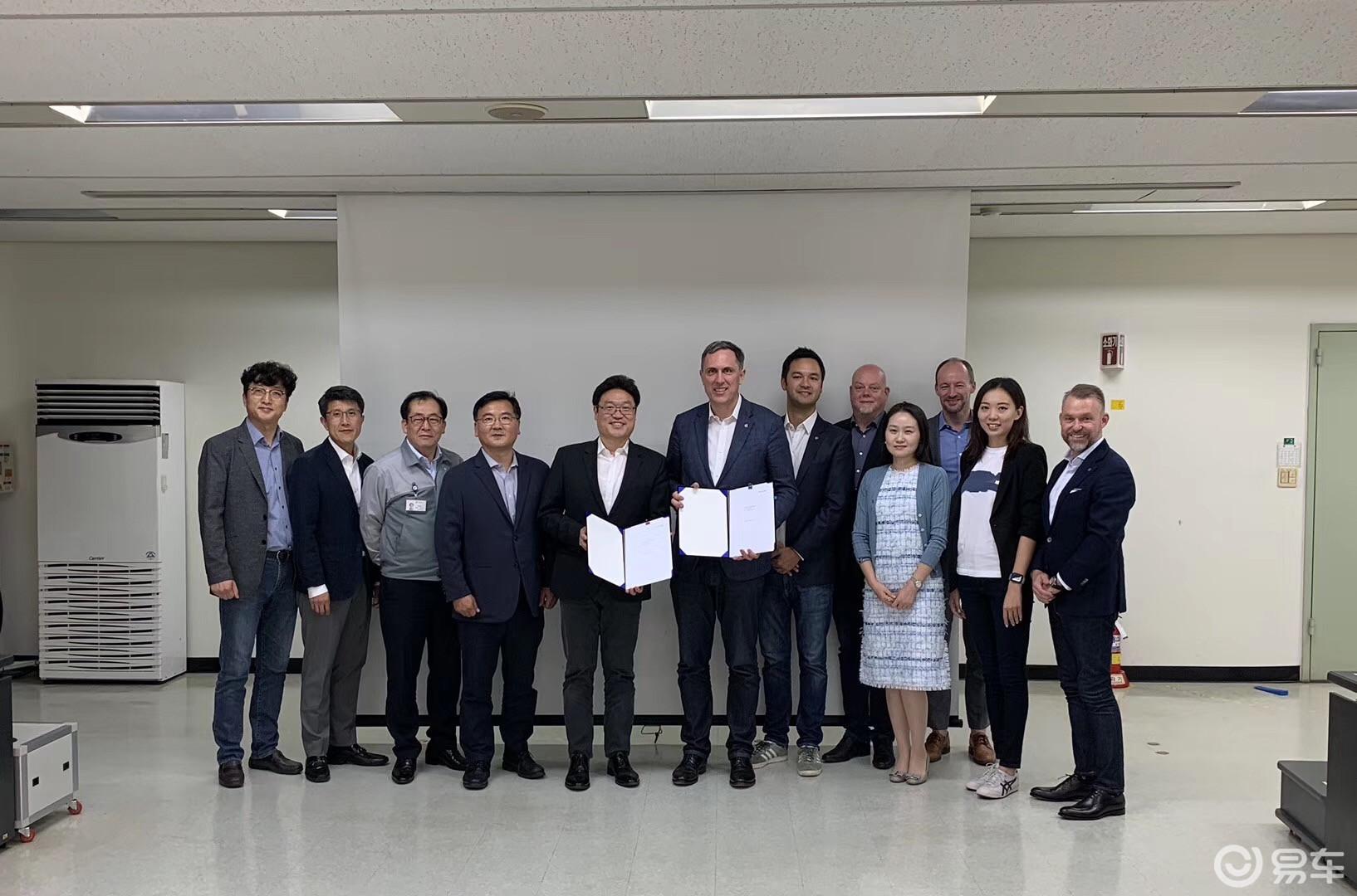 拜腾汽车宣布与韩国Myoung Shin Co.达成战略合作