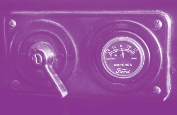 福特 T 型车的仪表盘(图片来源:Bonhams/Theo Civitello)