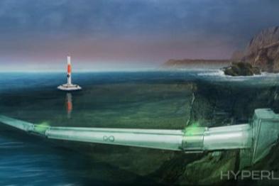 Hyperloop One宣布超音速水下运输管道计划