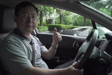 衍视科技CEO石景华,为东风雪铁龙c6点赞