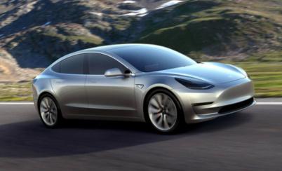 特斯拉发布Model 3功能列表,包括可选玻璃车顶