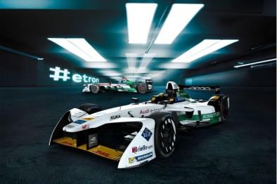 奥迪全新Formula E赛车公布:接纳e-tron定名