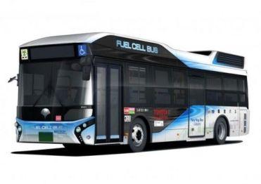 丰田已向东京交通局交付首批燃料电池巴士