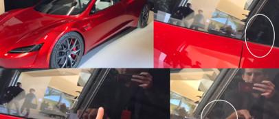 特斯拉Roadster将配备滑动式指纹识别功能