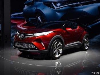 一汽丰田首款小型SUV将于广州车展首发
