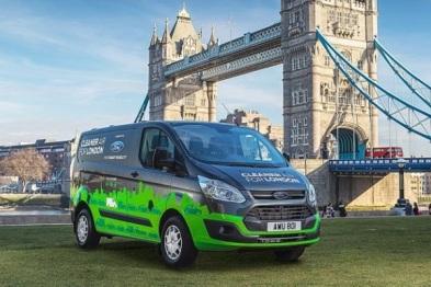 福特在伦敦测试PHEV商用车队