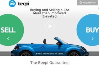 美国二手车交易平台Beepi融资1200万美元