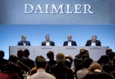 外媒:李书福已与蔡澈会面,吉利或加速入股戴姆勒