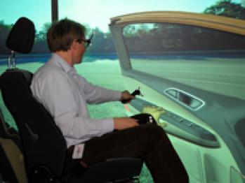 福特3-D CAVE技术:在虚拟实景中设计汽车