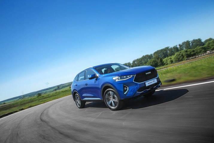 长城汽车俄罗斯图拉工厂首款下线车型——哈弗F7