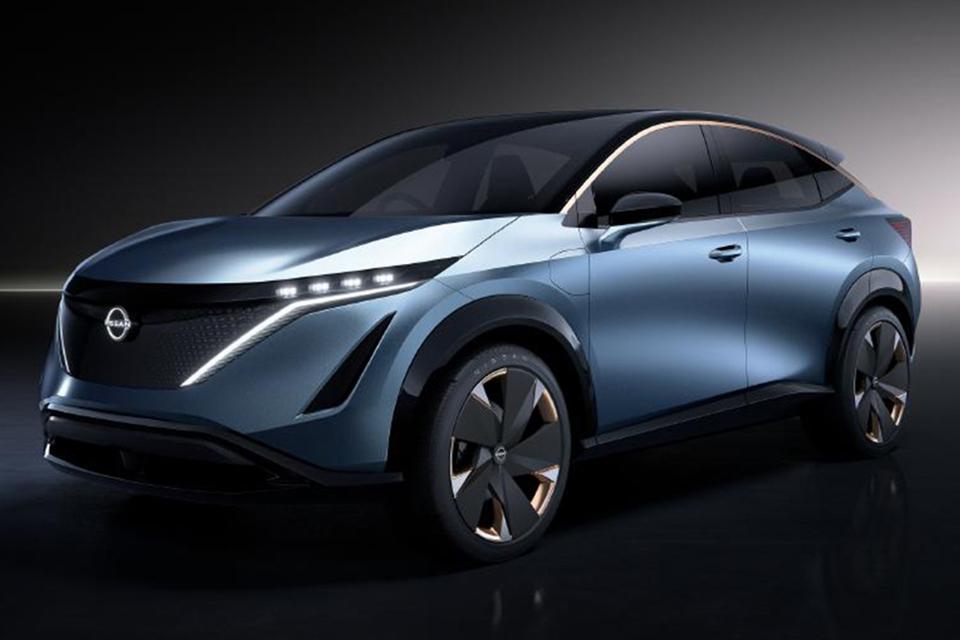 概念车走向现实,日产Ariya将于7月15号全球云首发