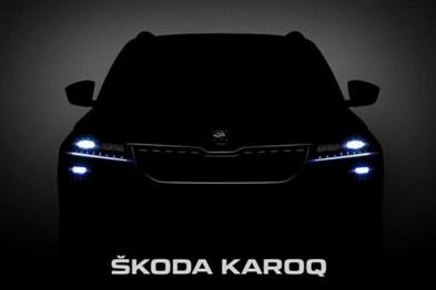 斯柯达KAROQ预告图公布,国产版或将加长