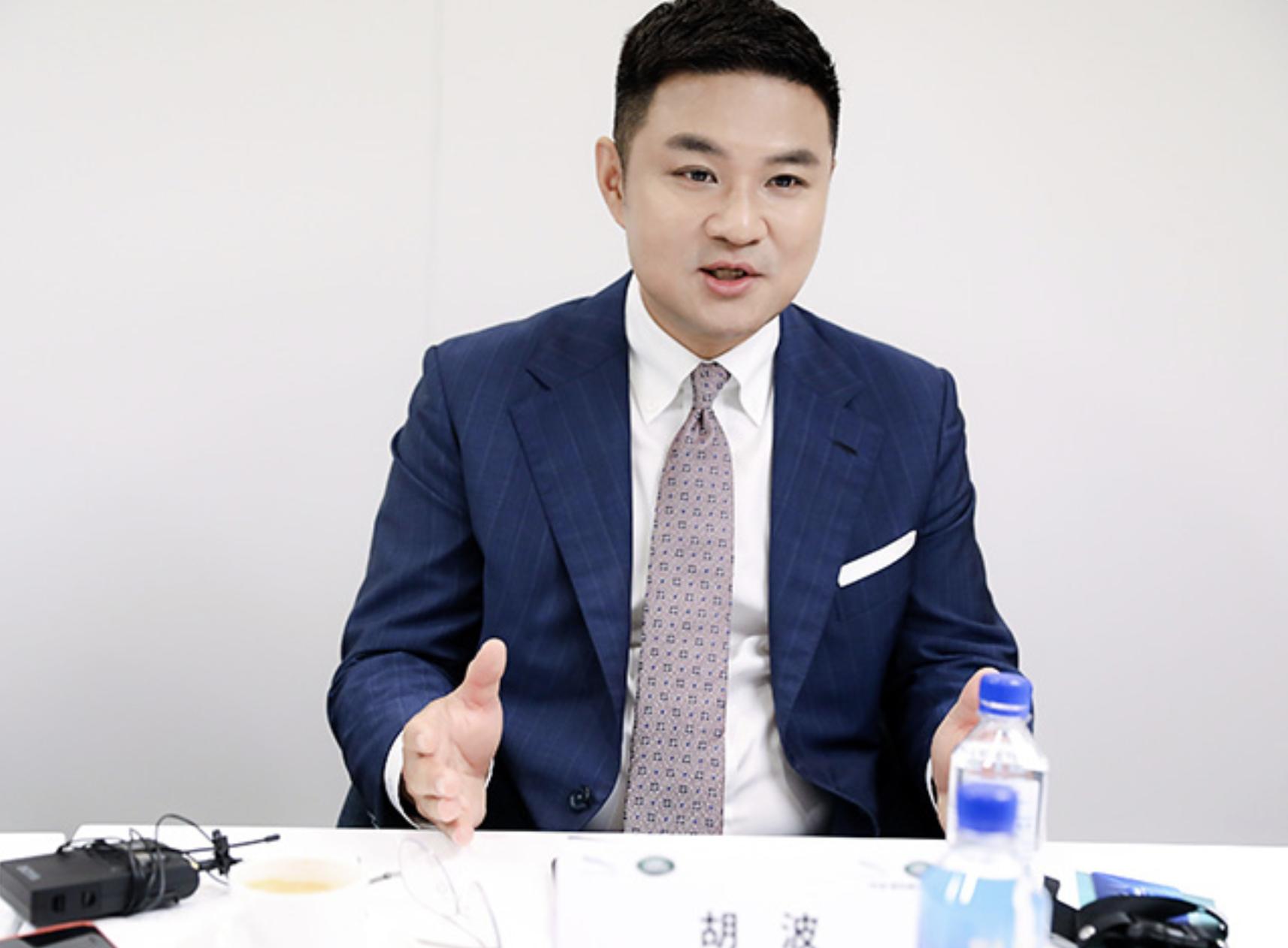 捷豹路虎中国市场和产品营销执行副总裁胡波