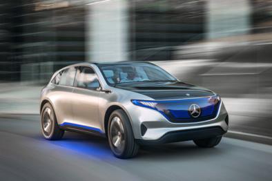 奔驰发布「Generation EQ」概念车,豪华品牌电气化之战在即?