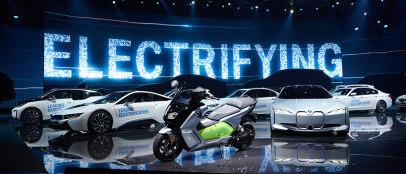 法兰克福:传统车企的纯电大爆发?| 新车必评