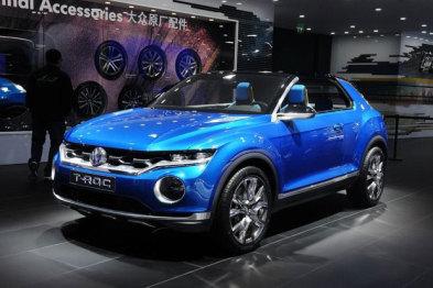 大众推小型SUV T-Roc,最快今夏欧洲开卖