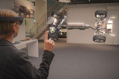 """沃尔沃将带来基于HoloLens的""""混合现实""""体验"""
