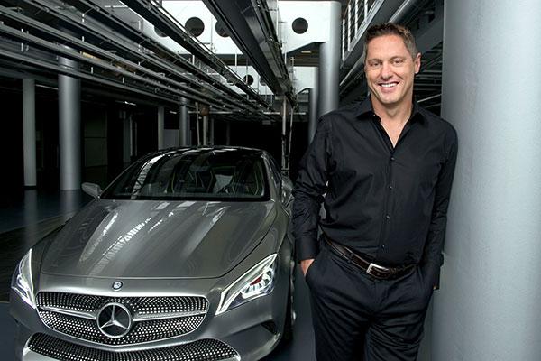 戴姆勒股份公司副总裁兼设计负责人戈登·瓦格纳先生