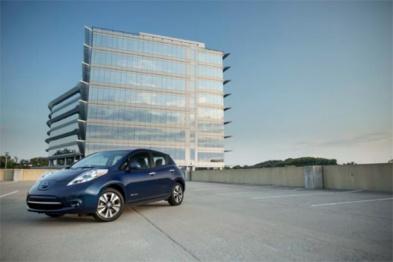 日产下月开始在伦敦测试无人驾驶Leaf电动车