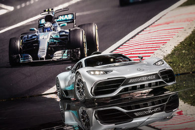 IAA车展前夜,奔驰发布了这台可以在路上跑的F1