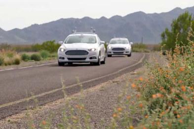 塔塔子公司测试无人驾驶,车上装3D激光雷达
