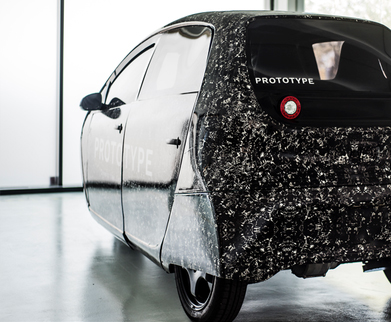 Spiri在丹麦技术BBQ上展示的概念车