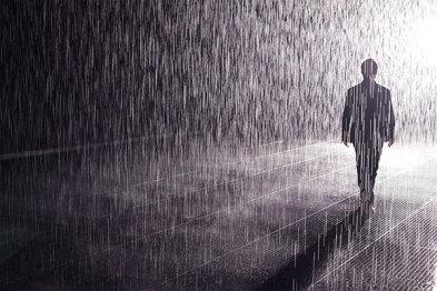 """""""雨屋""""3D镜头让""""下雨""""可控,大众汽车展现文化战略新形式"""