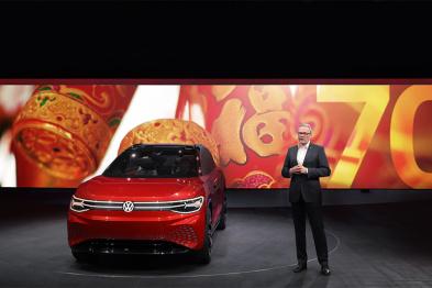 大众品牌:电动出行的未来在中国丨上海车展