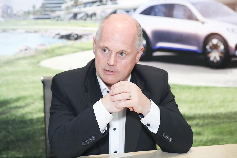 梅赛德斯-奔驰乘用车中国研发中心负责人安尔翰教授