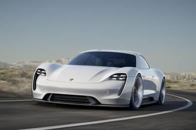 """保时捷Misson E电动化解析,""""踢馆""""特斯拉Model S?"""