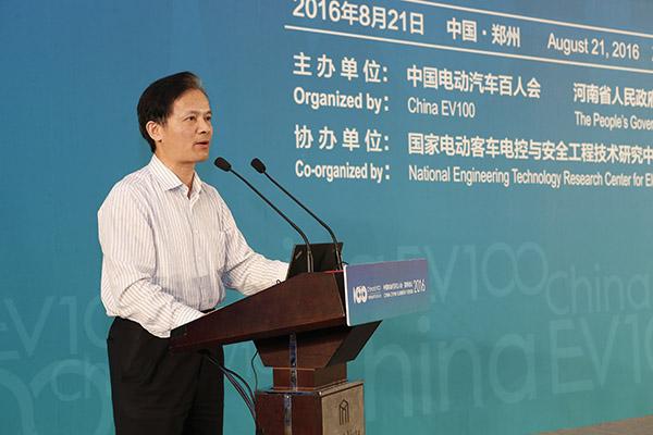 中国工程院秘书长、院士 钟志华