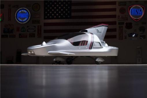 波音公司耗费600万美元打造的Sky Commuter concept car最终未能成功