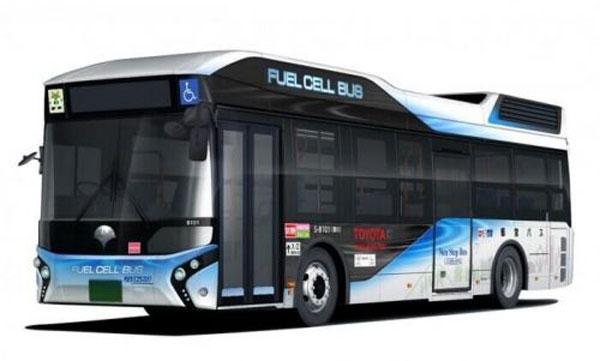 氢燃料电池大巴车