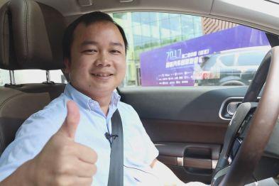 武汉极目智能技术有限公司CEO程建伟体验东风雪铁龙C6